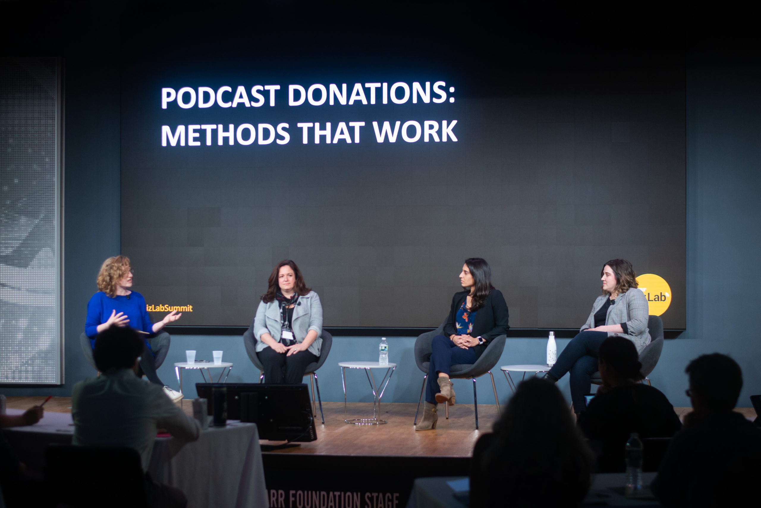 Panel – Podcast Donations: Methods that Work